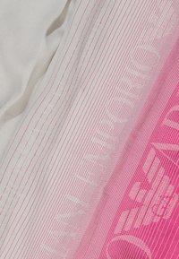 Emporio Armani - STOLE LIGHTWEIGHT FADED LOGO - Scarf - pop pink - 1