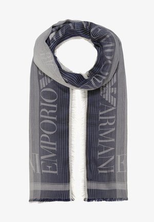 STOLE LIGHTWEIGHT FADED LOGO - Scarf - navy blue