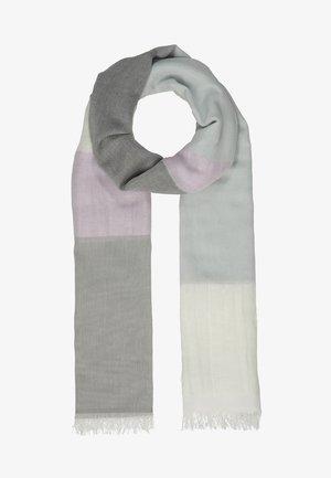 FOULARD STRIPE - Scarf - pearl grey