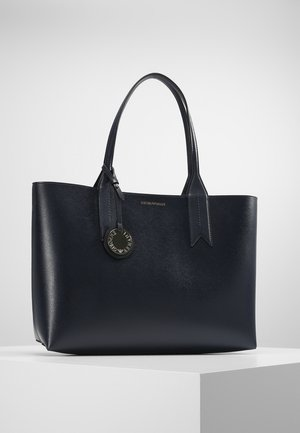 SHOPPING BAG BIG - Håndtasker - dark blue