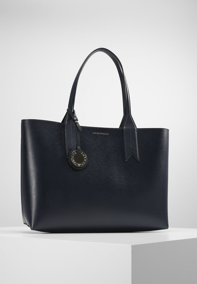 SHOPPING BAG BIG - Handbag - dark blue