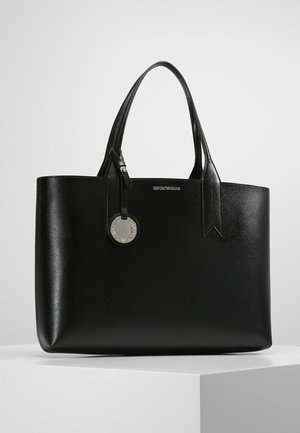 SHOPPING BAG BIG - Borsa a mano - nero/rosso