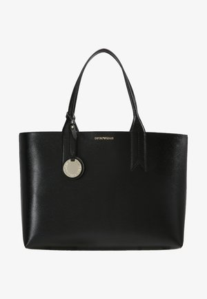 SHOPPING BAG BIG - Handbag - nero/rosso