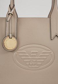 Emporio Armani - FRIDA ZIP EAGLE - Handbag - taupe - 2
