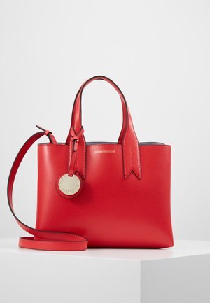 FRIDA SATCHEL  - Handbag - papavero