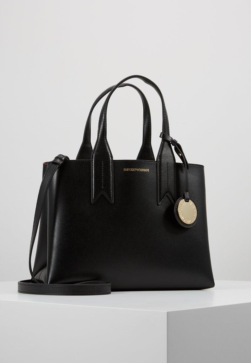Emporio Armani - FRIDA SATCHEL  - Handtasche - nero