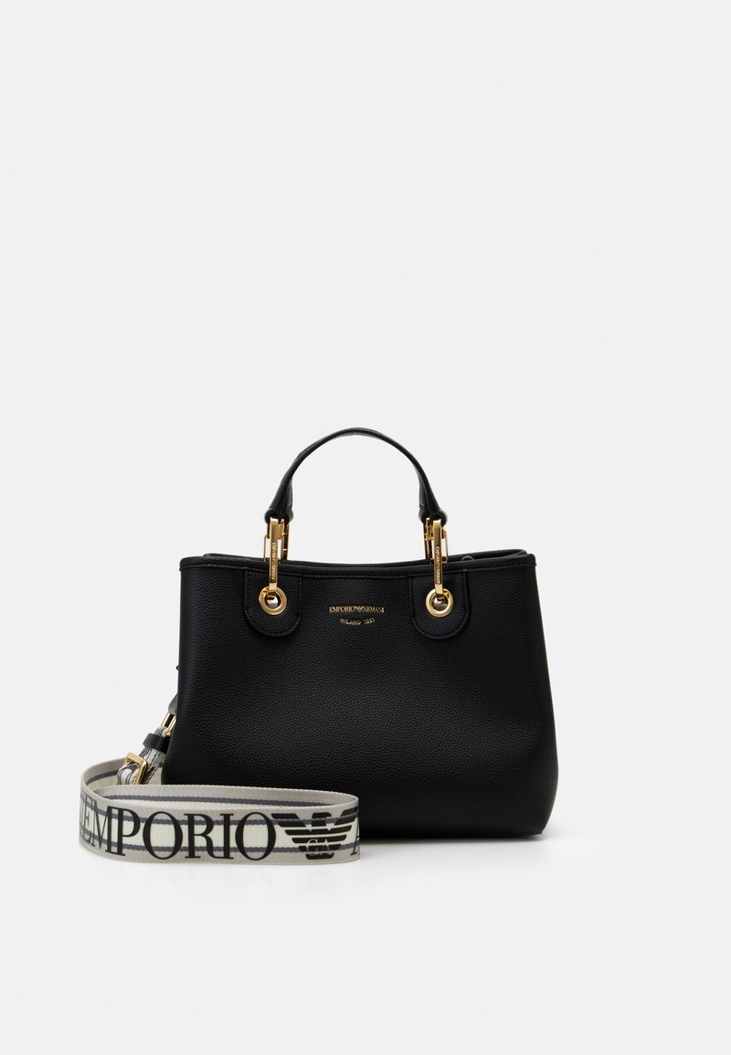 Emporio Armani - MYEA BAG - Handbag - nero/silver
