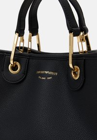Emporio Armani - MYEA BAG - Handbag - nero/silver - 5