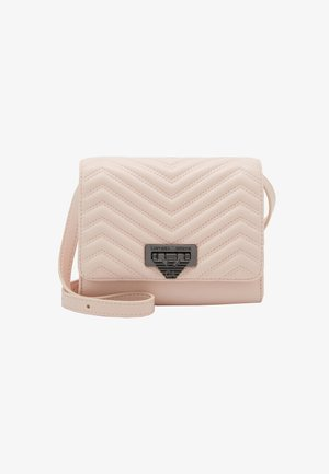 AMY CHEVRON SHOULDER BAG - Skulderveske - rosa