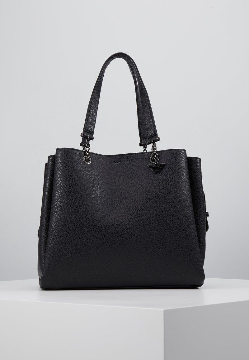 Emporio Armani - ANNIE TOTE BAG - Handbag - nero