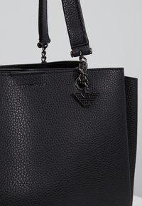 Emporio Armani - ANNIE TOTE BAG - Handbag - nero - 8