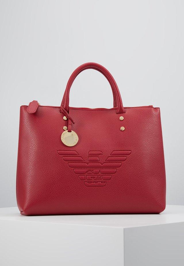 ROBERTA EAGLE TOTE - Handbag - rubino