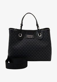 Emporio Armani - MY EA SHOPPING BAG S PRINT LOGO - Sac à main - nero/nero - 5