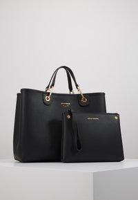 Emporio Armani - MY BAG  - Shopping bag - nero/rosso - 6