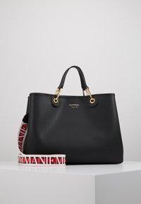 Emporio Armani - MY BAG  - Shopping bag - nero/rosso - 0