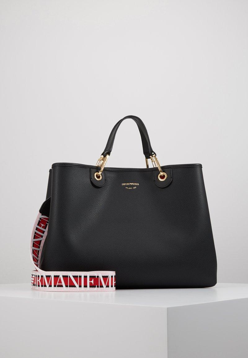 Emporio Armani - MY BAG  - Shopping bag - nero/rosso