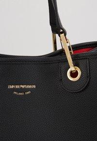 Emporio Armani - MY BAG  - Shopping bag - nero/rosso - 2