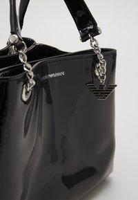 Emporio Armani - ANNIE PATENT SATCH SET - Handbag - nero - 6