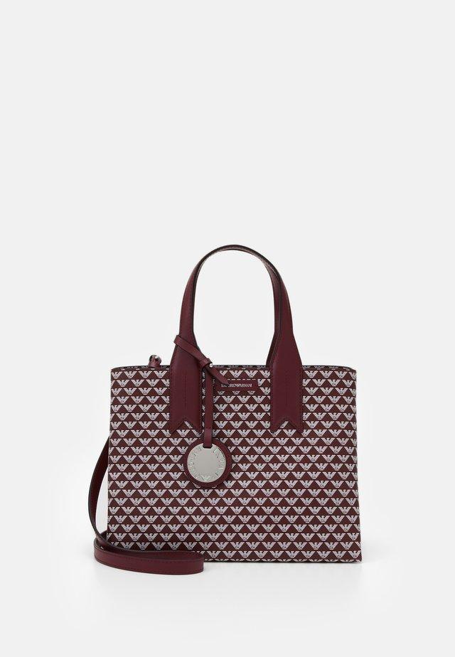 FRIDA TOTE BAG ALL OVER PRINT - Handbag - vinaccia/perla/vinac