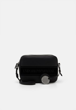 FRIDA STRIPE LOGO CAMERA CROSSBODY - Schoudertas - nero