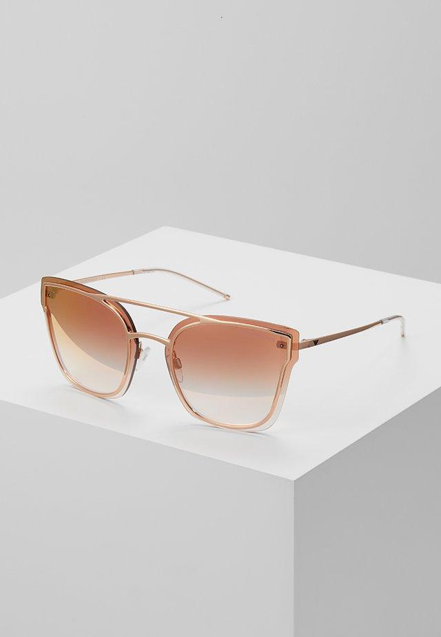 Sonnenbrille - rose gold-coloured