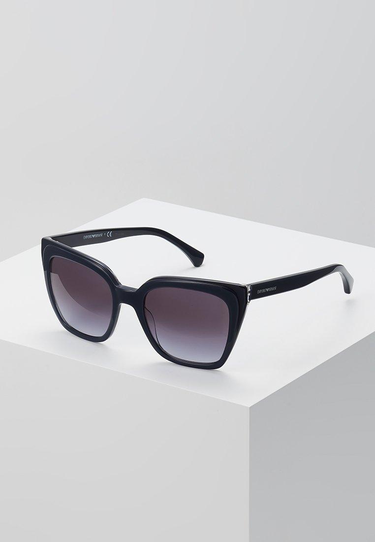 Emporio Armani - Sunglasses - trilayer crystal blue