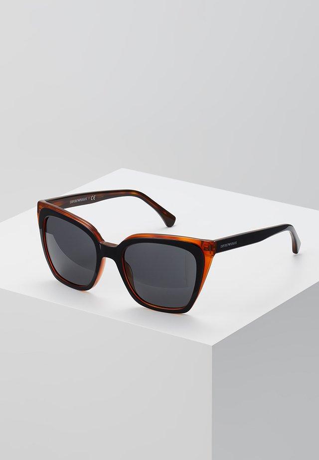 Okulary przeciwsłoneczne - top black on yellow