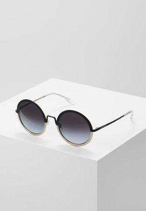 Sunglasses - matte black/matte pale gold-coloured