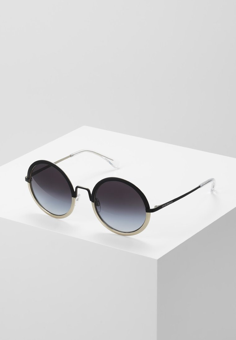 Emporio Armani - Gafas de sol - matte black/matte pale gold-coloured
