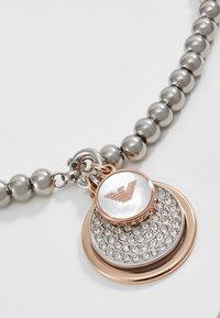 Emporio Armani - Armband - silver-coloured/rose gold-coloured - 3
