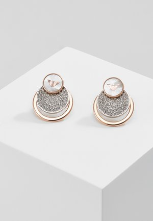 Earrings - silver-coloured/ rose gold-coloured