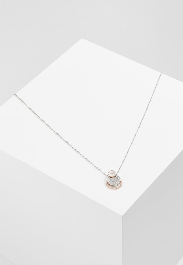 Necklace - silver-coloured/rose gold-coloured