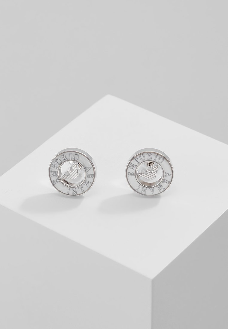 Silber Armani Emporio Emporio Boucles D'oreilles gy76vYbf