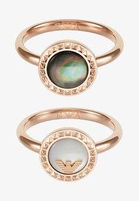 Emporio Armani - Ring - roségold-coloured - 3
