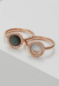 Emporio Armani - Ring - roségold-coloured - 4