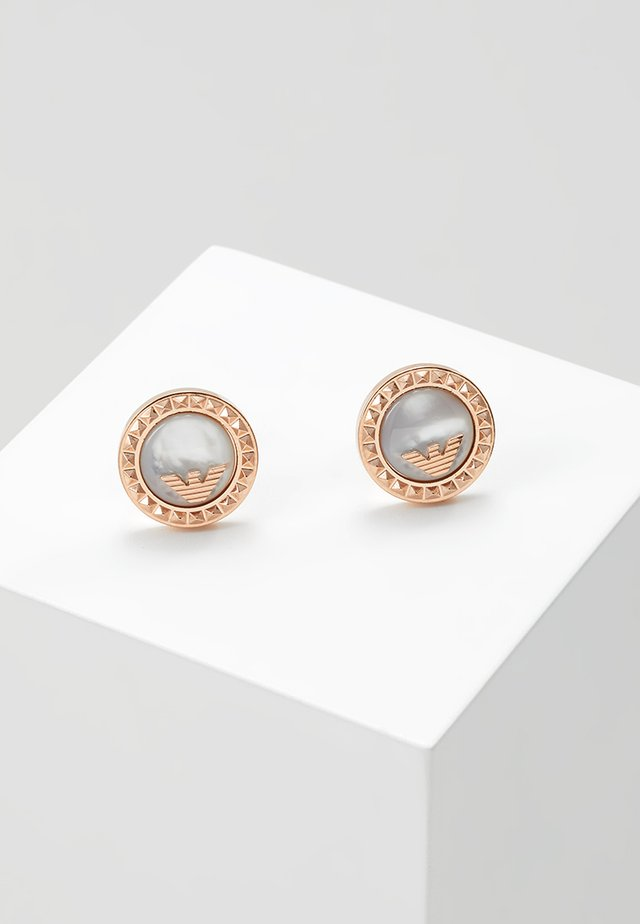 Earrings - roségold-coloured