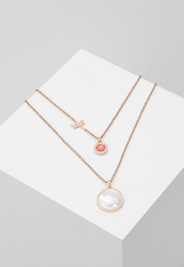 Halskette - roségold-coloured