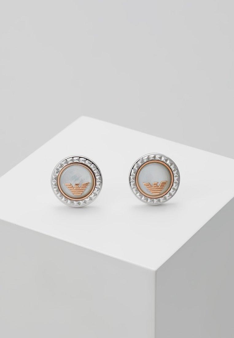 Emporio Armani - Náušnice - silver-coloured