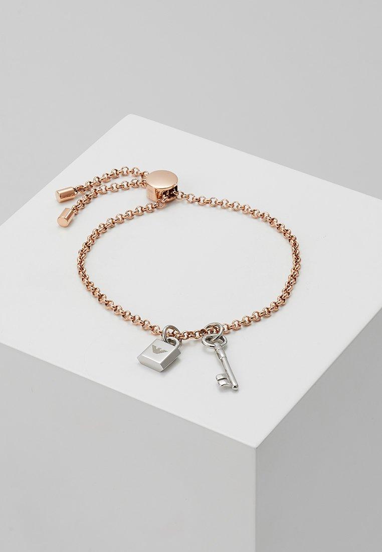 Emporio Armani - Armband - roségold-coloured/silver-coloured