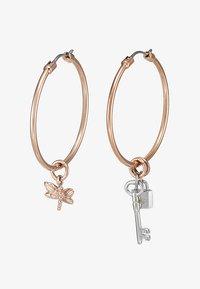 Emporio Armani - Boucles d'oreilles - roségold-coloured/silver-coloured - 3