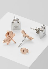 Emporio Armani - SET - Ohrringe - roségold-coloured/silver-coloured - 2