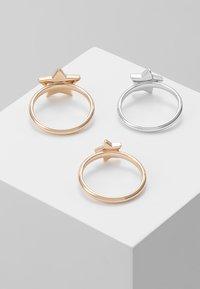 Emporio Armani - 3 PACK - Prsten - roségold-coloured/silver-coloured - 2