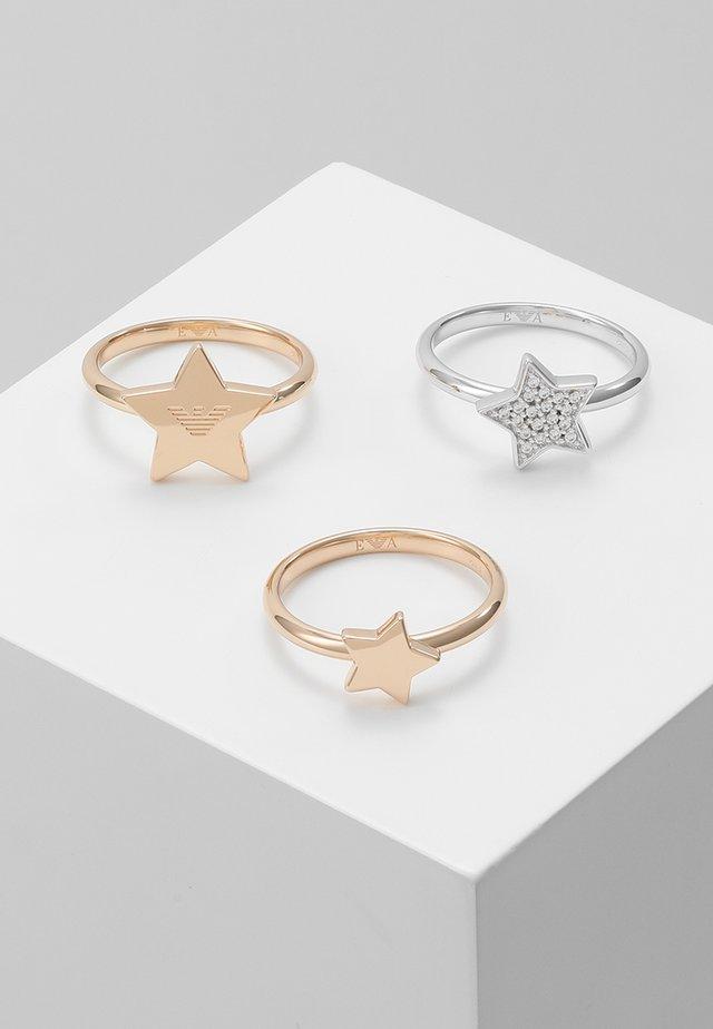 3 PACK - Sormus - roségold-coloured/silver-coloured