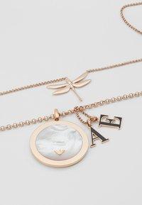 Emporio Armani - 2 PACK - Necklace - roségold-coloured - 5