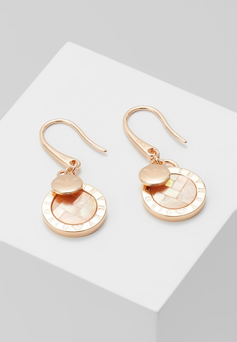 Emporio Armani - Earrings - roségold-coloured