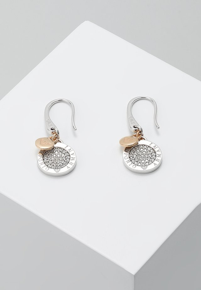 Boucles d'oreilles - roségold-coloured/silber-coloured