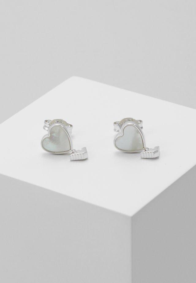Örhänge - silver-coloured