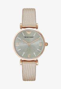 Emporio Armani - Watch - hellbraun - 1