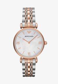 Emporio Armani - Watch - silver-coloured/rosègold-coloured - 1