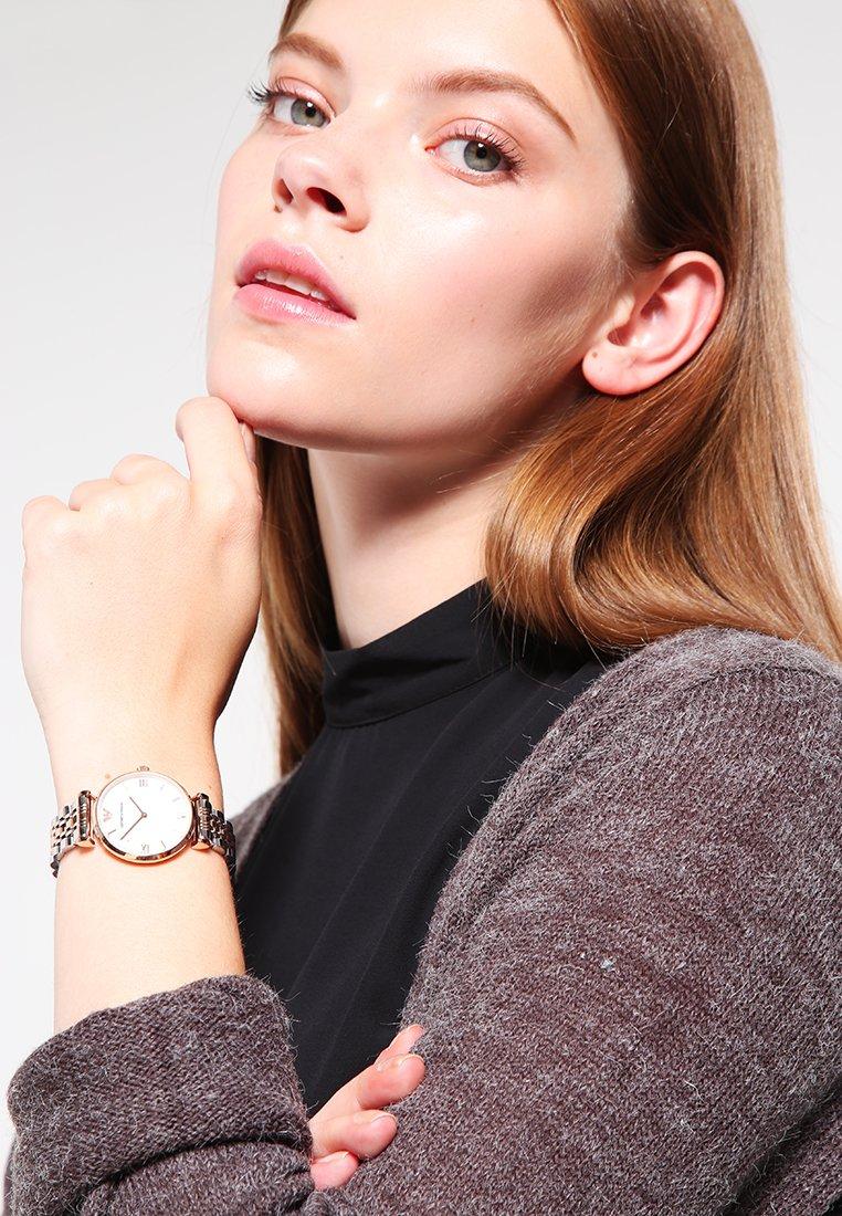 Emporio Armani - Watch - silver-coloured/rosègold-coloured